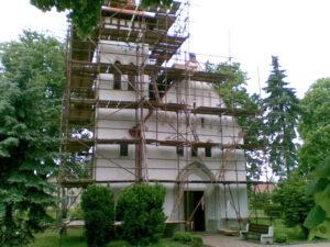 Rekonstrukce kostela 01