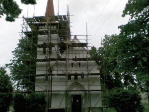 Rekonstrukce kostela 02