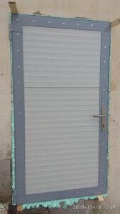 Vstupní dveře ČOV D. Brusnice