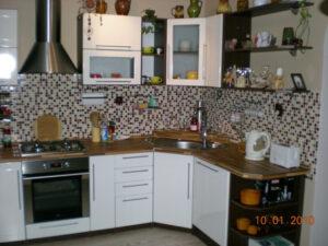 Výroba a kompletace kuchyňské linky 01